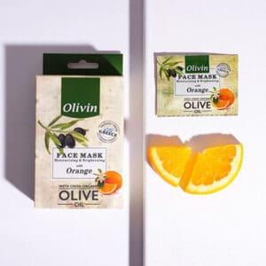 Olivin Μάσκα Προσώπου με Πορτοκάλι