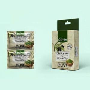Olivin Μάσκα με Πράσινο Άργιλο
