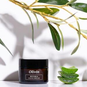 Olivin Ενυδατική Κρέμα Προσώπου με υαλουρονικό οξύ και αλόη